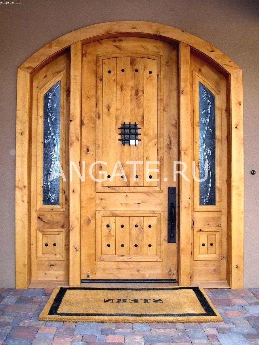 Двери в дом своими руками 11